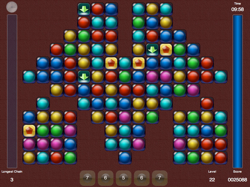 An entertaining chain arcade puzzle game.