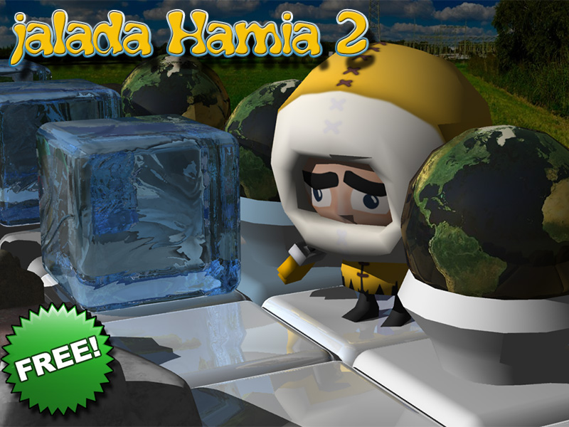 jalada Hamia 2 is a challenging brain-teasing puzzle game based on moving ice. wonderful Screen Shot