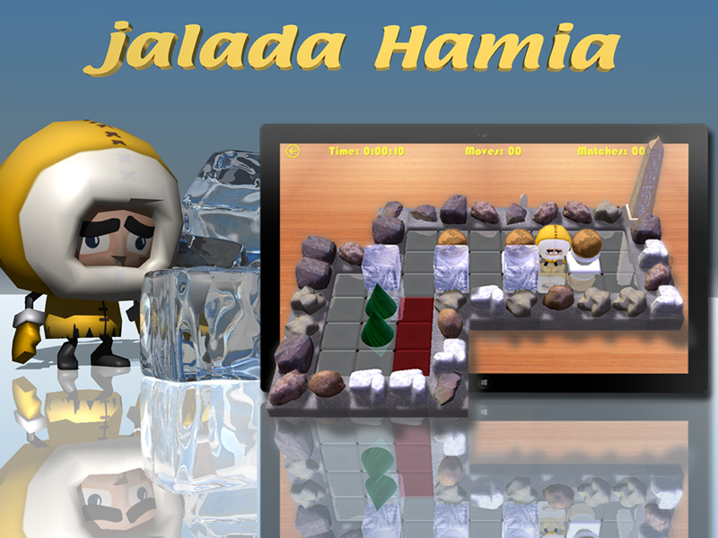 Jalada Hamia - The Ice Cube Game