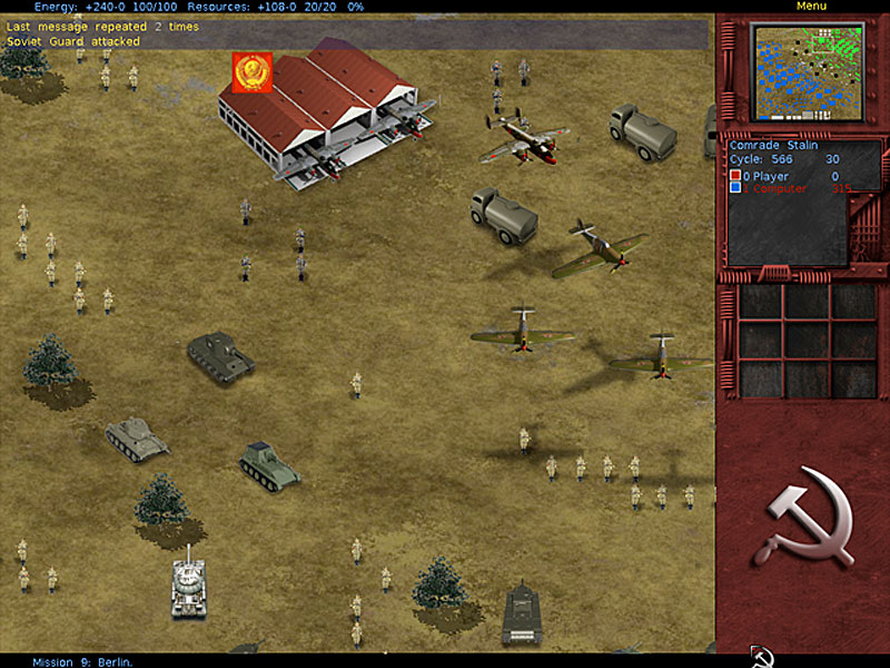 jalada Comrade Stalin is a historical real-time strategy game.