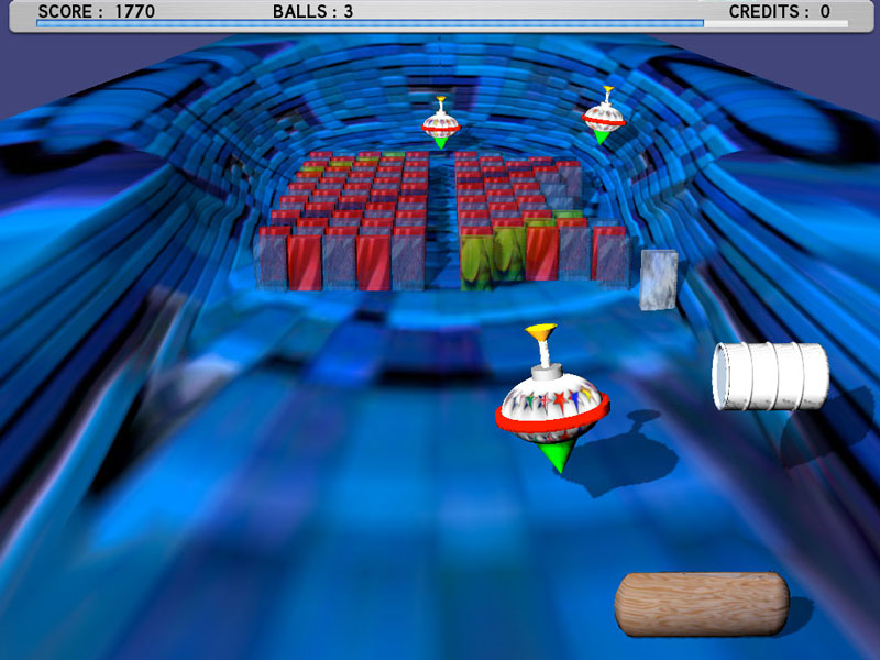 Spinball is a fast-paced brick out style arcade game with amazing 3D graphics.