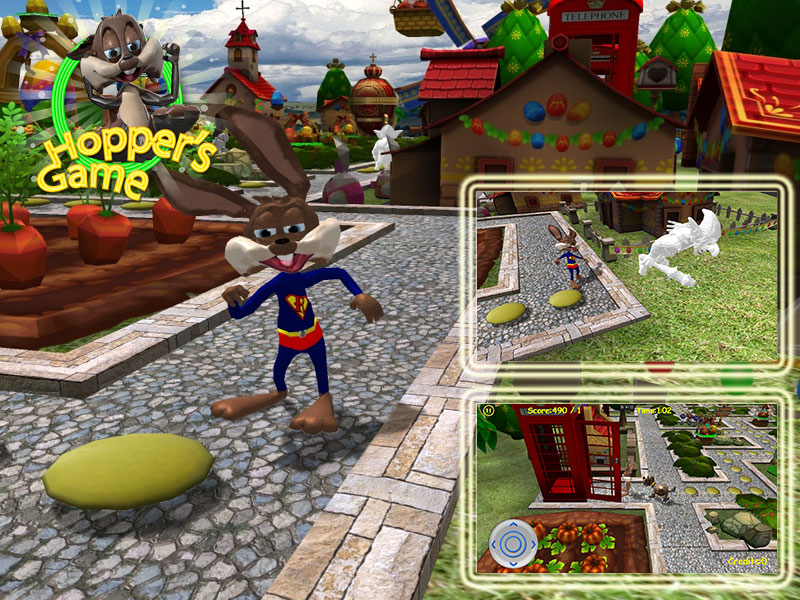 Screenshot of jalada Hopper's Game